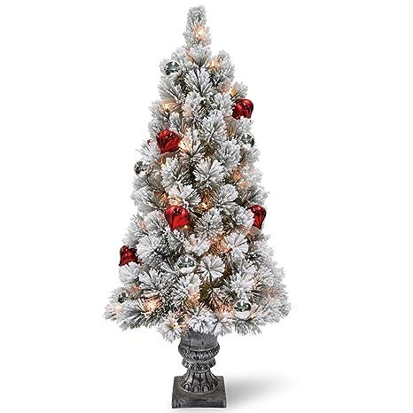 Amazon.com: CC Christmas Decor 4 Pre-Lit - Árbol de entrada ...