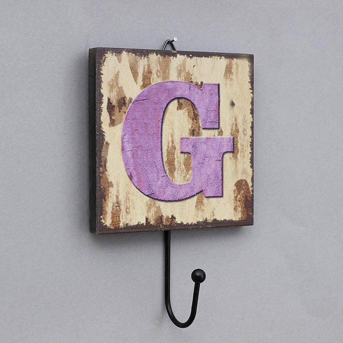 LIAN Perchero gancho llavero campesino letras decorativas ...