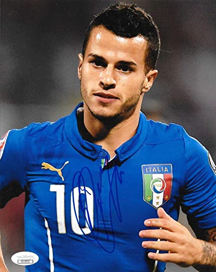 d3f2fc1a5 Image Unavailable. Image not available for. Color  Sebastian Giovinco Signed  Photo - Italy 8x10 MLS Juventus - JSA ...