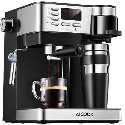 Amazoncom Aicook Espresso And Coffee Machine 3 In 1 Combination