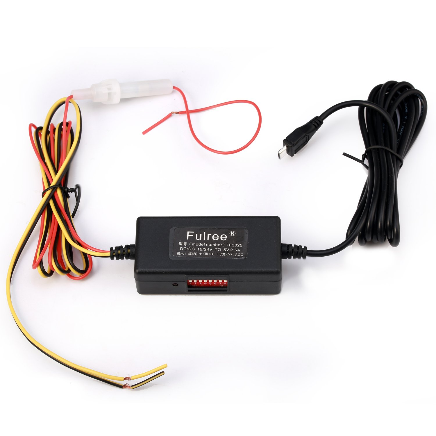 Geree Dc Converter Step Down 12v 24v To 5v Micro Usb 28v With Lm2585 Cable Low Voltage Protection Home Audio Theater