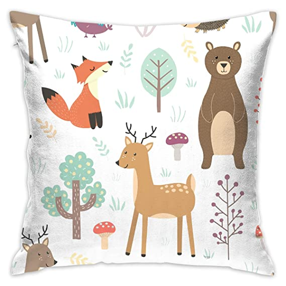 Amazon com: Pillowcases Personalized Decorative Cute Animals Fox