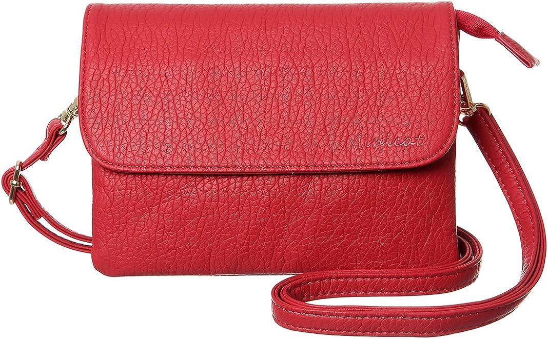 MINICAT Damen-Rote Handtasche