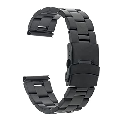 TRUMiRR 22 mm de acero inoxidable reloj de Seguridad de la banda ...