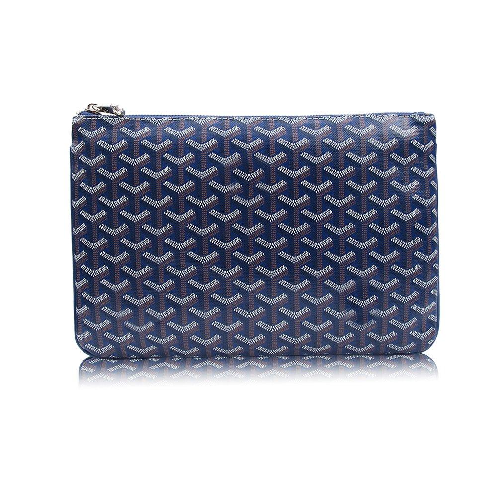 Stylesty Fashion Clutch Bag, Pu Envelope Clutch Purse, Women Handbag (Large, Borland)