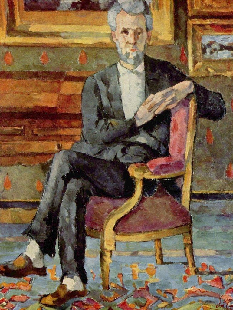 Lais Puzzle Paul Cézanne - Porträt Victor Chocquet sitzend 2000 Teile