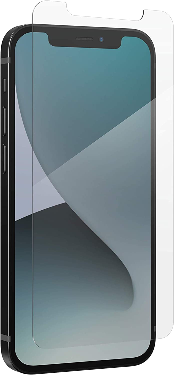 ZAGG InvisibleShield Glass+ Screen Protector – High-Definition Tempered Glass Made for iPhone 12 Mini – Impact & Scratch Protection