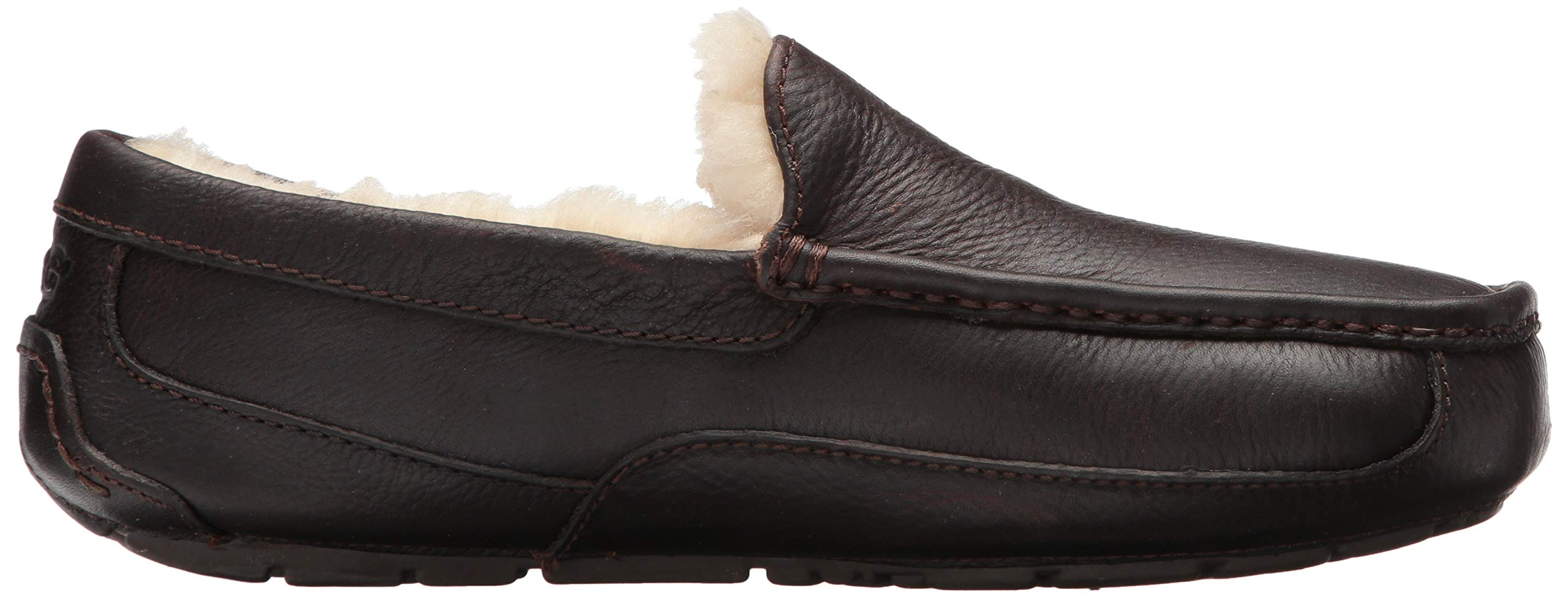 UGG Men's Ascot Slipper, China Tea Leather, 15 M US by UGG (Image #8)