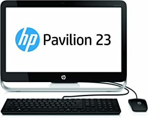 "HP Pavilion 23-g010 23"" Desktop, AMD E2-3800, 4GB RAM, 500GB HDD, Windows 8"