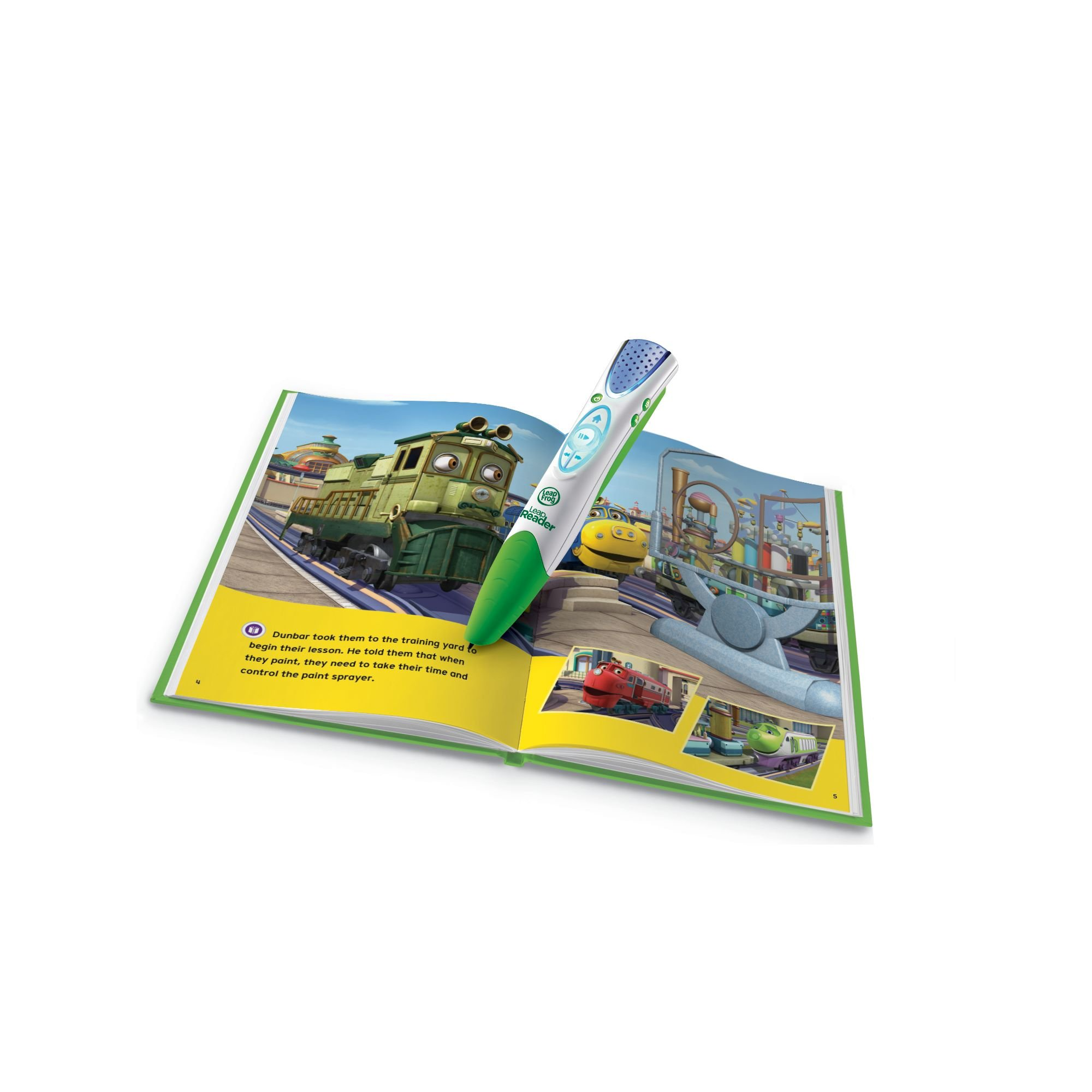LeapFrog LeapReader Book: Chuggington: Wilson and the Paint Wagon (works with Tag) by LeapFrog (Image #2)