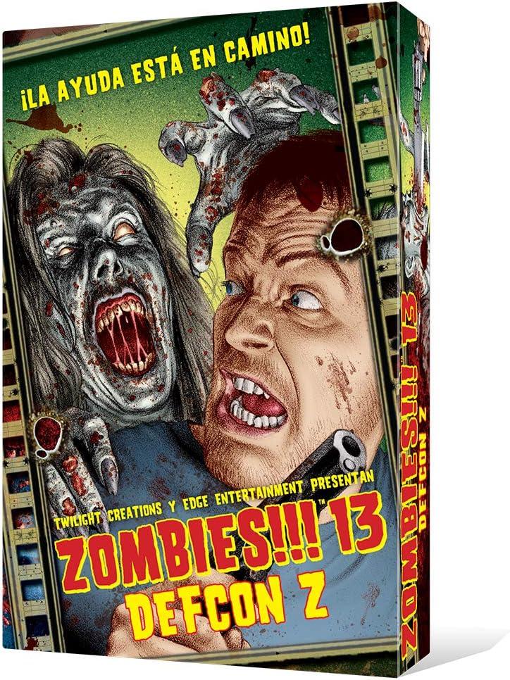 Zombies!!! 13 DEFCON Z - Juego de mesa (Edge Entertainment EDGTC13 ...