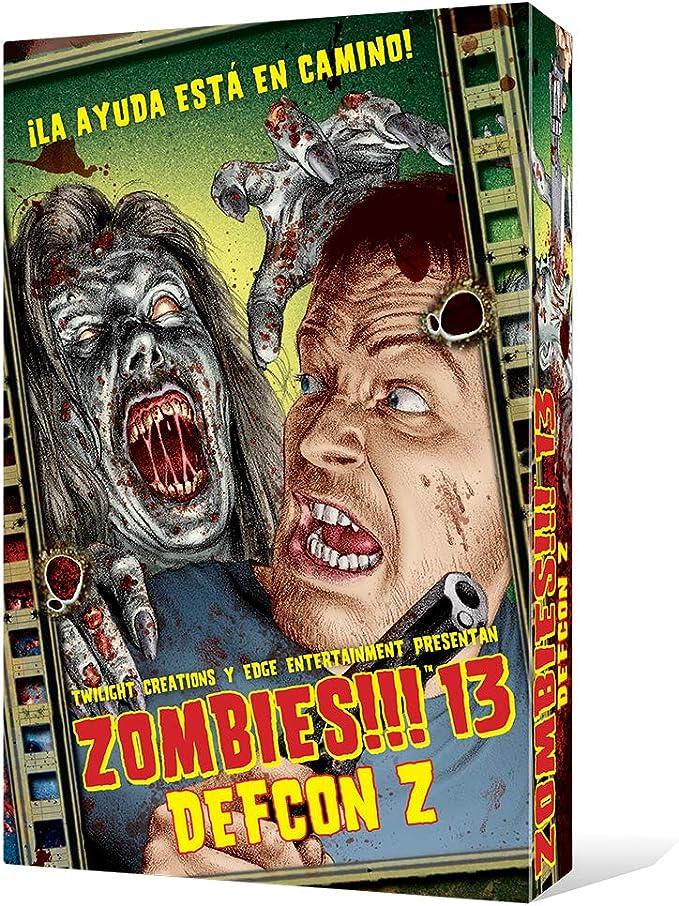 Zombies!!! 13 DEFCON Z - Juego de mesa (Edge Entertainment EDGTC13): Amazon.es: Juguetes y juegos