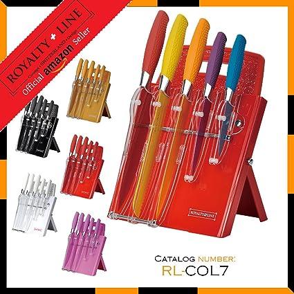 Compra Royalty Line rl-7st W 7 pcs Conjunto de los Cuchillos ...