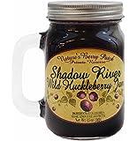 Shadow River Wild Huckleberry Gourmet Jam 13 oz Jar