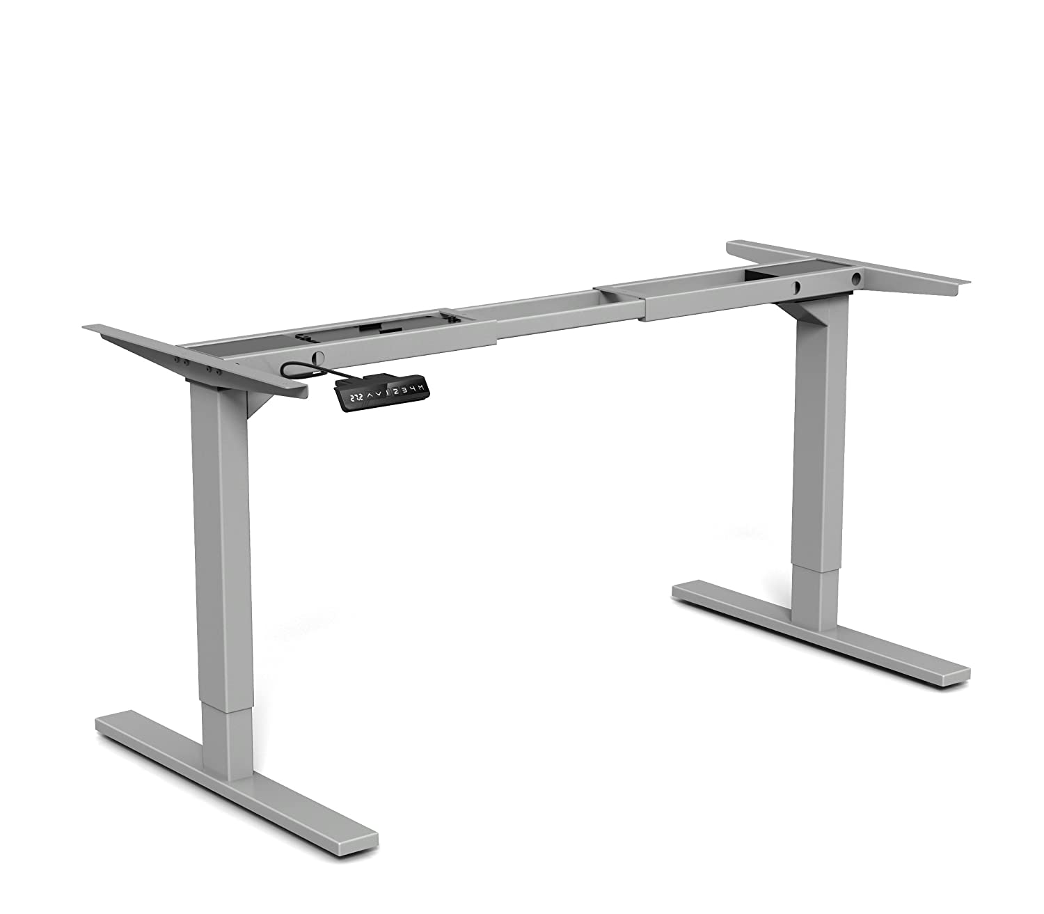 Amazon.com: MergeWorks HighRise Electric Height Adjustable Table Base For  Sit To Stand Desk: Kitchen U0026 Dining