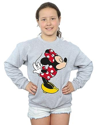 Disney niñas Minnie Mouse Split Kiss Camisa De Entrenamiento: Amazon.es: Ropa y accesorios