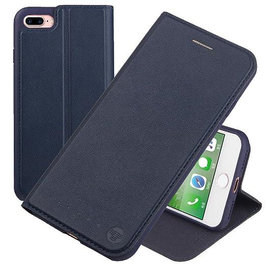 146 opinioni per Nouske Custodia a portafoglio per iPhone 7 plus iPhone 8 plus Apple da 5.5