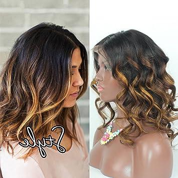 Amazon Com Rosesangel Brazilian Short Hair Wigs For Women Glueless