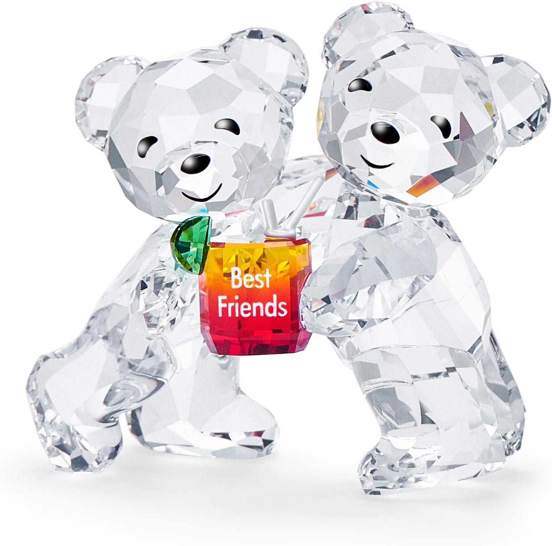 Swarovski Kris Bear Figurine, Stunning Swarovski Crystal 'Best Friends' Animal Collectible