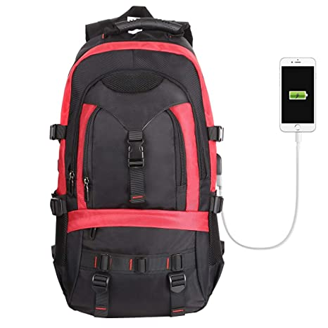 Resistant Laptop USB with Lock 17 Backpack Tocode Fits 3 with Charging PortAnti Travel Rucksack Large School Bag Inch College theft LaptopWater uT1lKc3FJ5