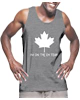 Mens Im On The Eh Team - Canada, Canadian Tank Top T-