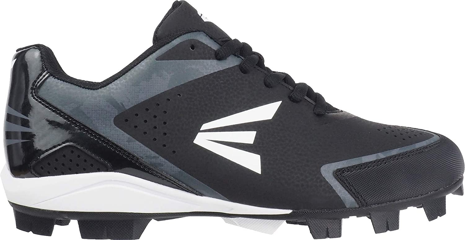 Black//Charcoal Easton 360 Youth Baseball Cleats