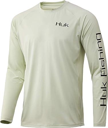 Huk WC Bass Pursuit - Camisa de pesca de manga larga con ...