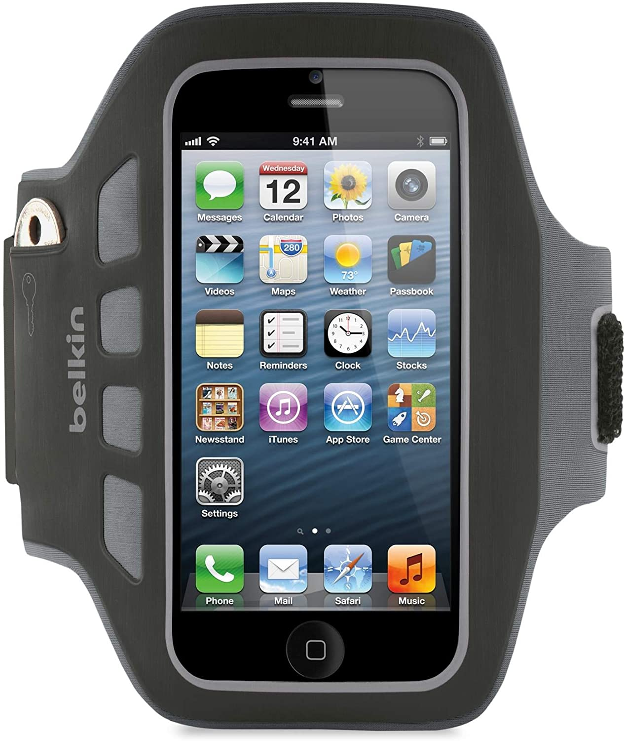 Belkin Ease-Fit Plus Armband for iPhone 5 / 5S / 5c / SE (Black)