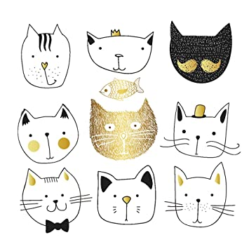 Parches para gatos de SLYlive, camiseta de presión, transferencia de calor, pegatina para planchar sobre electrodomésticos, decoración: Amazon.es: Hogar
