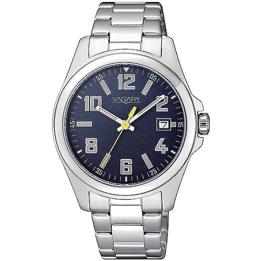 Vagary By Citizen Reloj Solo Tiempo Hombre para Samsung Galaxy Verano Camp Casual COD. ib7 - 619 - 71: Amazon.es: Relojes