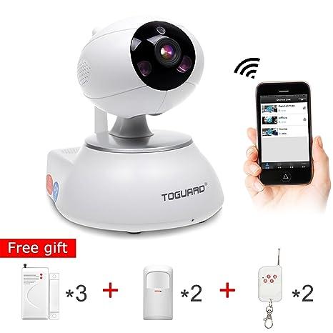 TOGUARD Sistema de alarma de vigilancia de seguridad doméstica con sensor de puerta * 3 +
