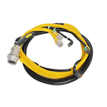 71wvPWxe5aL._SY355_ amazon com sinocmp engine injection wiring harness 6156 81 9211 Largest Komatsu Excavator at couponss.co