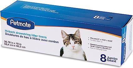Petmate Hi-Back Open Litter Cat Pan