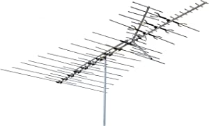 Channel Master CM-3671 Ultra-Hi Crossfire Outdoor TV Antenna - VHF/UHF/FM Directional Long Range 100 Mile