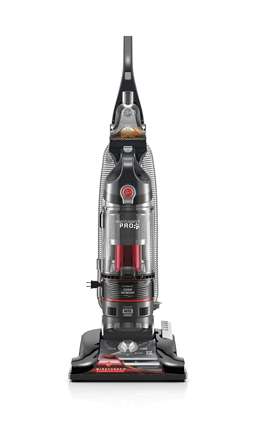 hoover windtunnel 3 pro pet bagless upright vacuum cleaner uh70935