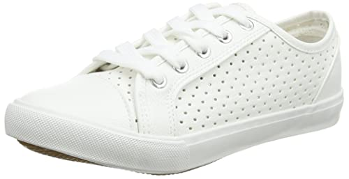 New Look Wide Foot Meshy amazon-shoes bianco