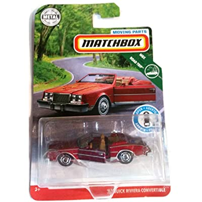 Matchbox 2020 Mbx Road Trip - '83 Riviera Convertible - Moving Parts: Toys & Games