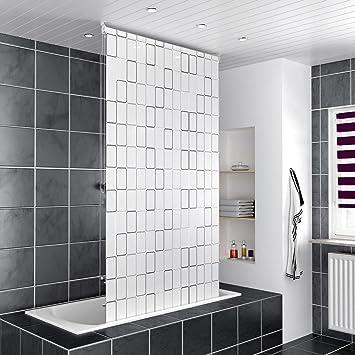 Homelux Duschrollo Badezimmer Vorhang Deckenbefestigung mit ...