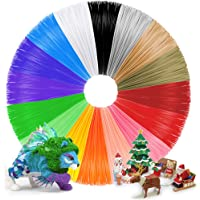 Anpro 3D Stift Filament PLA Filament 1.75mm 112M 16 Farben je 7M 3D Print Filament 3D Printer Material für 3DDrucker, EINWEG