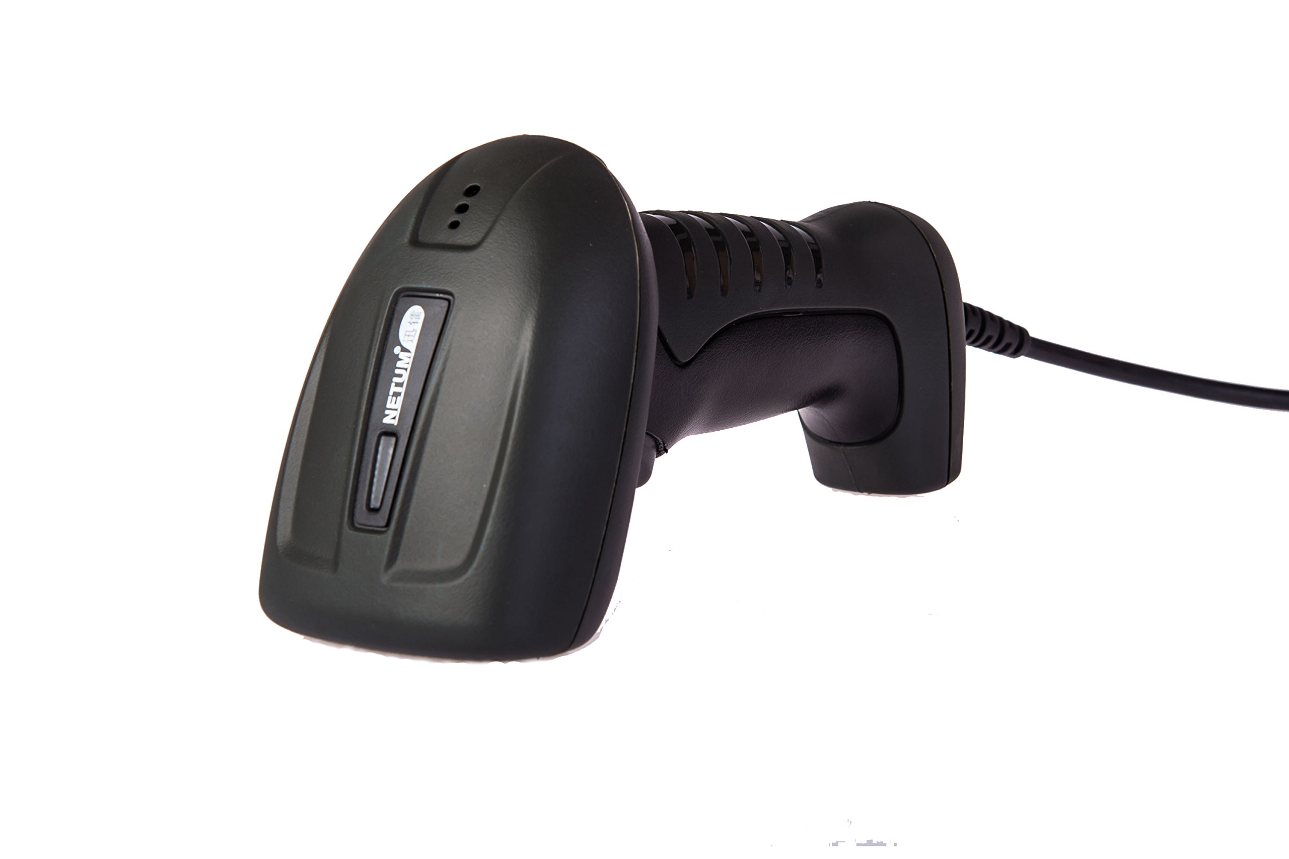 NETUM Wired 32 Bit USB Laser Scan Barcode Scanner Bar Code Reader Black Hand Held