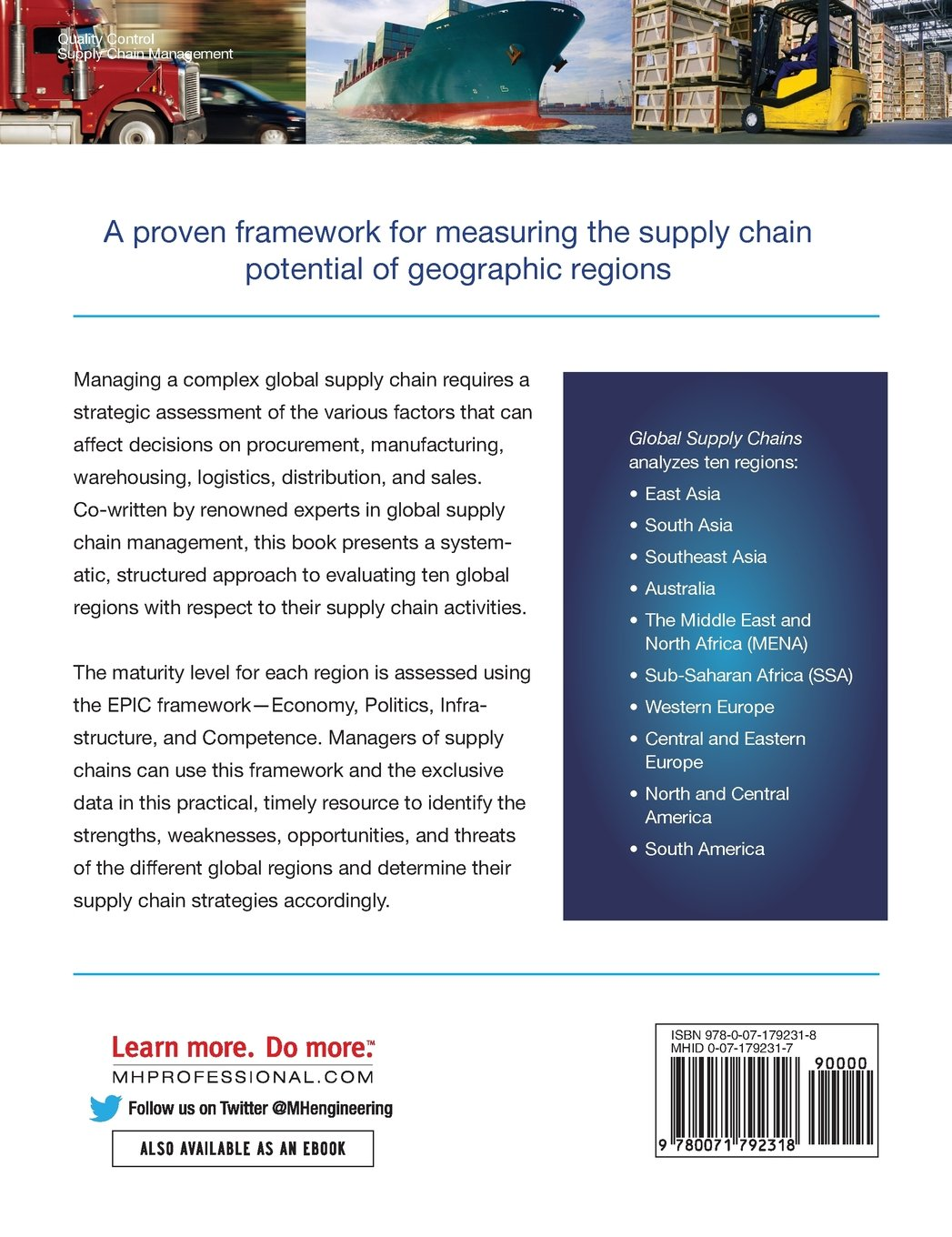 Global Supply Chains: Evaluating Regions on an EPIC