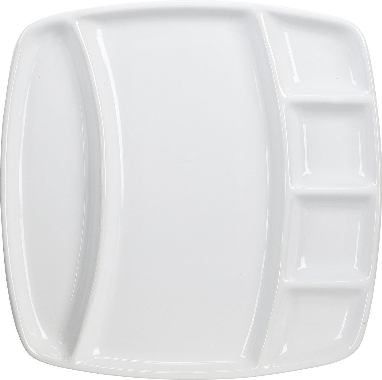 4-Piece Square Fondue Plates-Home Presence SYNCHKG125145