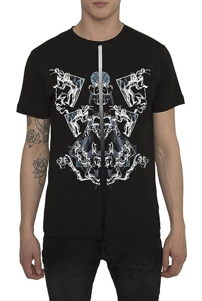 Camisetas Blancas, Negras de Algodón para Hombre, T Shirt Fashion Vintage Rock, Camiseta
