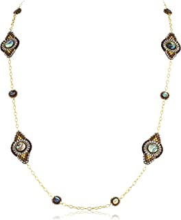 product image for Miguel Ases Abalone Station Long Necklace