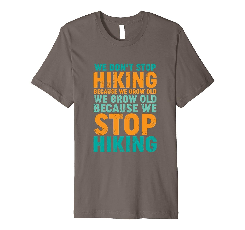Hiking Logo T Shirts