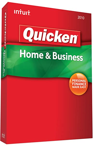 quicken 2010 home and business