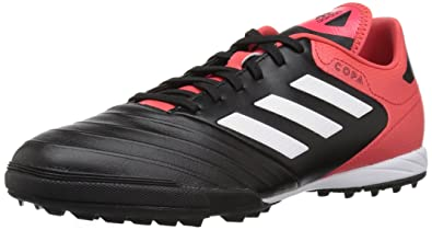 9a06197a36e7 adidas Men's Copa Tango 18.3 TF Soccer Shoe, core Black/White/Real Coral