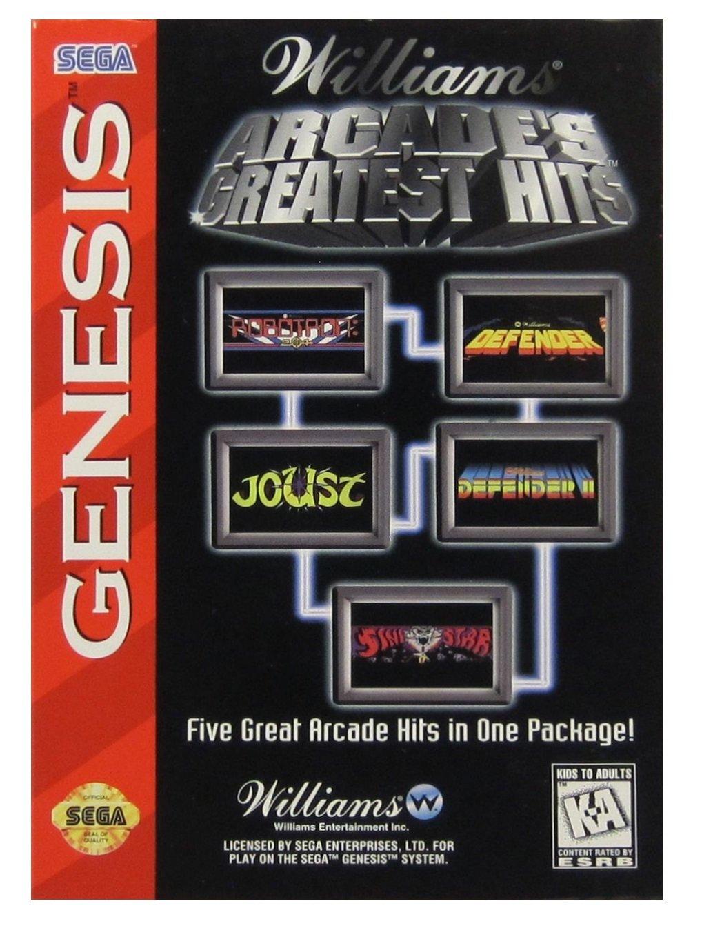 Amazon com: Williams Arcade's Greatest Hits: Video Games