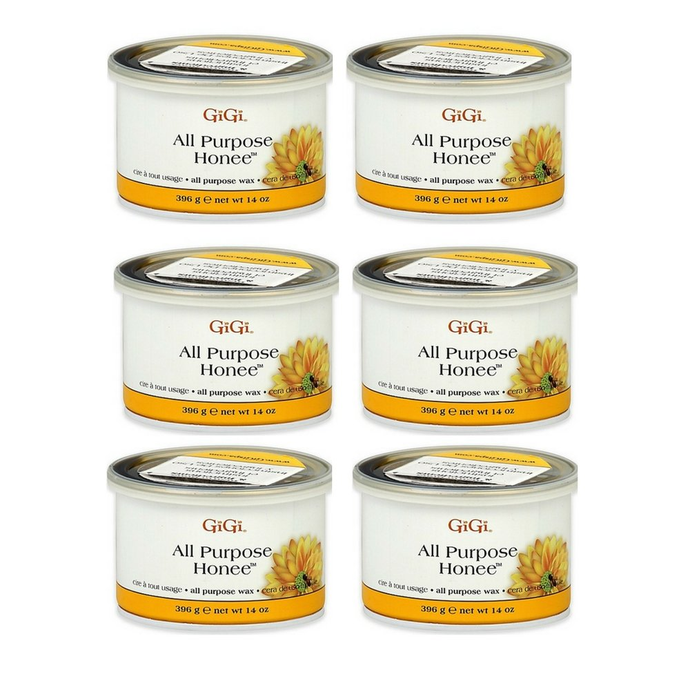 GiGi 14 oz. All Purpose Honee Wax (6 Pack)