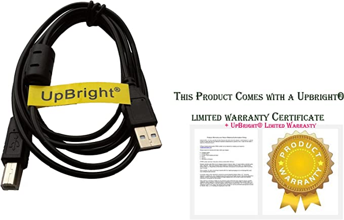 SLLEA PC USB 2.0 Cable Cord for Alesis Multimix 6 USB Mixer Male A to Male B Laptop Data Sync Cord Black